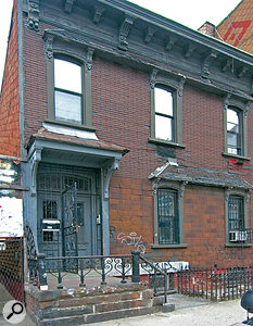 The Daptone building in the Bushwick neighbourhood of Brooklyn.