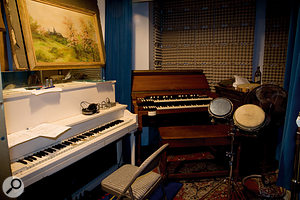 Upright piano and organ are two important elements of many Daptone tracks.
