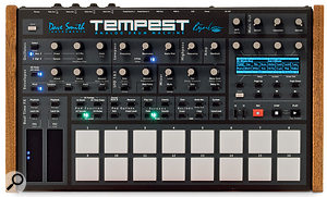 The Tempest is all about hands-on control — as you can tell from its busy front panel.
