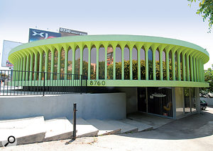 Mark Mothersbaugh's studio complex, Mutato Muzika, in West Hollywood.