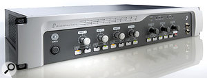 The 003 Rack inherits many of the improved features of the 003, including its high-quality preamps.