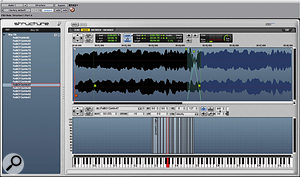 Structure's wave editor allows you to set up a single loop in any sample, with adjustable crossfading.