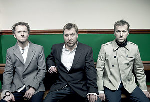 Doves (from left): Andy Williams, Jimi Goodwin and Jez Williams.