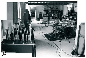 A composite photo showing the inside of Frank Bough Sound III.