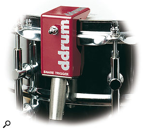 Drum triggers such as this DDrum device are commonly used during live performance these days, but they can also prove a useful ally in a studio recording session.