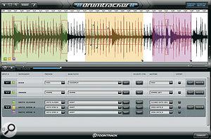Toontrack's Drum Tracker.