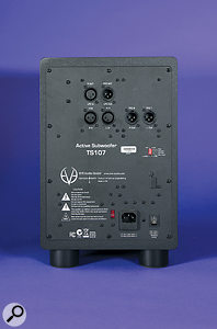 The TS107 has a  comprehensive set of full-range and filtered I/O.