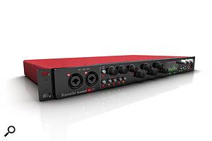 Focusrite's flagship USB 2.0 audio interface