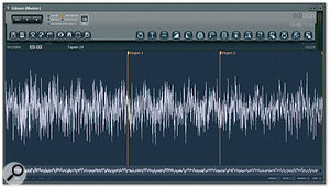 The new Edison sample editor can be used almost anywhere in FL Studio's signal path to capture and process audio.