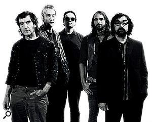 The current Faust line‑up: from left, Michael Stoll, JanFride, Steven W Lobdell, Lars Paukstat, HansJoachim Irmler.