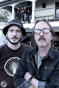 Wasting Light was tracked by engineer James R Brown (left) and producer Butch Vig (right).