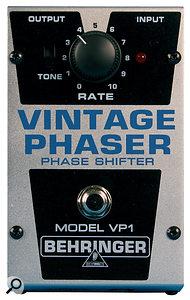 The Behringer VP1 Phaser.