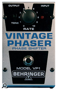 The Behringer VP1 Phaser.