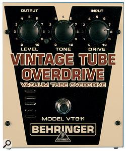 The VT911 Vintage Tube Overdrive.