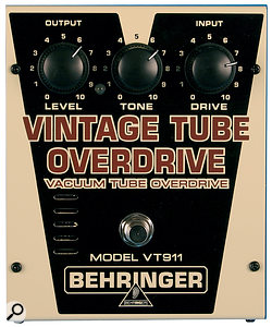 The VT911 Vintage Tube Overdrive.