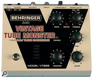 The VT999 Vintage Tube Monster.
