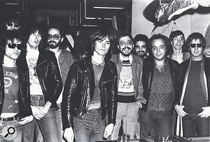 Sire Records is perhaps best known today for launching the careers of New York punk and new wave acts, including the Ramones (with Seymour Stein third from right).