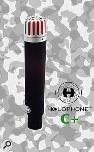 Cardioid microphone from Holophone