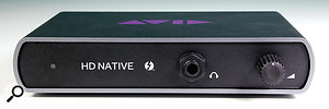 Avid HD Native Thunderbolt