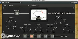 The synth bass on 'Firework' went through a lengthy processing chain. From top: Sound Toys Decapitator distortion, SPL TwinTube tube emulation, UA Pultec EQ, Waves CLA-2A compressor, SPL Vitalizer enhancer and URS N12 EQ.