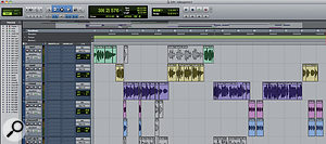 Pro Tools was used to record and edit Lana D