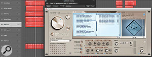 The same Altiverb preset was used both for the drums and for the vocals.
