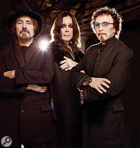 Black Sabbath, 2013: from left, bassist Geezer Butler, singer Ozzy Osbourne and guitarist Tony Iommi.