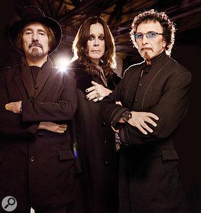 Black Sabbath, 2013: from left, bassist Geezer Butler, singer Ozzy Osbourne and guitarist Tony Iommi.