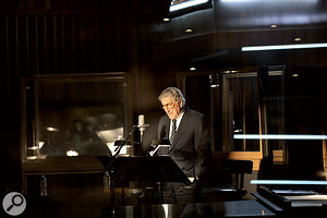 Tony Bennett recording his first number one album, at the age of 85!