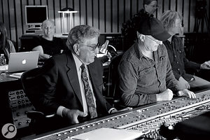 Like its predecessor, Duets II was recorded and mixed by Tony Bennett's son Dae Bennett (right).