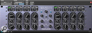 6: The UAD Manley Massive Passive EQ plug-in was the only one used on the master bus.