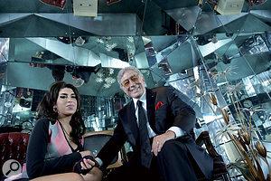 Tony Bennett with Amy Winehouse.