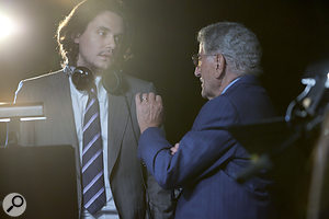 John Mayer with Tony Bennett.