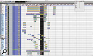 The main Edit window for the '4 Minutes' Session.