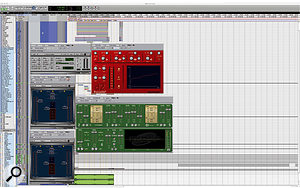 Few plug-ins were used for the mix of '4 Minutes', partly because Demo Castellon prefers the sound of outboard gear, and partly to ensure that the mix would be portable between studios.