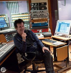This photo, taken by Aerosmith's Brad Whitford, shows Warren Huart at Pandora's Box.