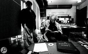 David R Ferguson and Johnny Cash.