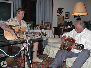 Some material for albums in the American series was recorded by Ferguson on aportable rig at Johnny Cash's house in Jamaica.