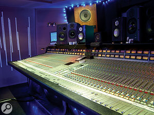 Assault & Battery is well stocked with monitors, including ATC SCM20s, Unity Audio Rocks, Dynaudios and big Tannoy Classic Gold speakers. The ATCs are Moulder's main speakers, and he also uses Auratones and aPhilips boombox. However, Celebration Day was mostly mixed on Yamaha NS10s.