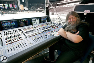Principal FOH mixer for the concert was 'Big Mick' Hughes.