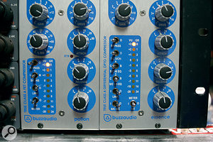 Dylan Dresdow's Buzz Audio Potion and Essence compressors (FET and optical designs respectively) were widely used on his mixes for The END.