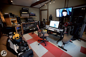 Another view of Red Swan Studios.