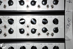 Although Eric Valentine's custom desk was not finished by the time Slash was mixed, its EQ was available and employed on several tracks.
