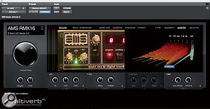 Ken Andrews' principal reverb and delay plug-ins were, respectively, Audio Ease's Altiverb and Sound Toys' EchoBoy.