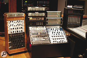 House Of Blues houses an impressive collection of outboard gear to complement its SSL J9000 desk.
