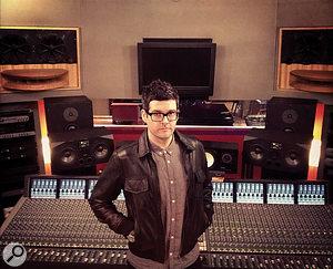 Jan Kybert at Dean Street Studios.