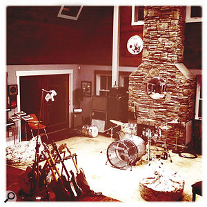 The live area at Albert Hammond Jr's One Way Studios, where much of Angles was recorded and where the mix took place.