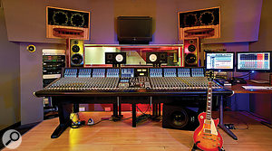 Sonik Kicks was mixed on the SSL Duality at Dean Street Studio 1.