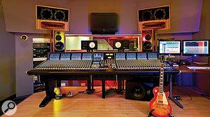 Sonik Kicks was mixed on the SSL Duality at Dean Street Studio 1.