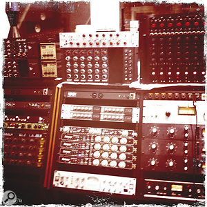 Much of the processing on Angles was printed at the recording stage, using One Way's fine collection of outboard.